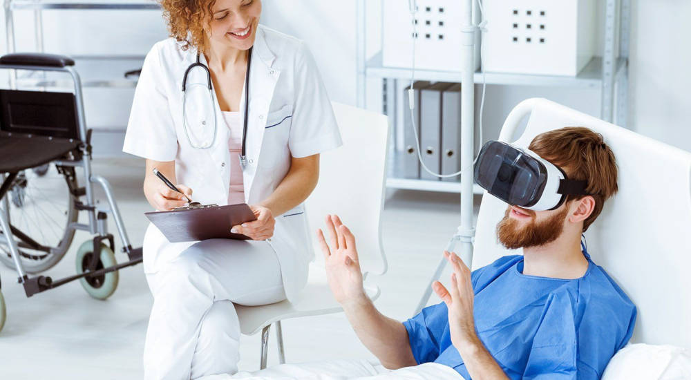 digital therapeutics and covid pandemic - VR on the rise